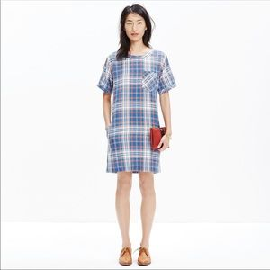 Madewell Pocketed Shift Dress